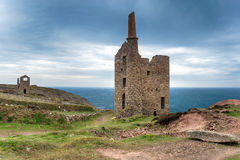 Cornish Copper Mine Stock Photography