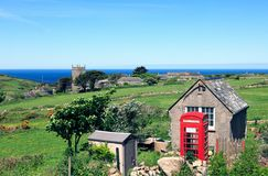Cornish Countryside Royalty Free Stock Photo