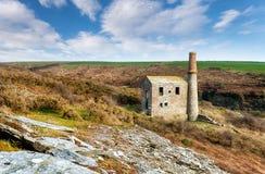 Cornish Engine House Stock Images