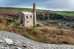 Cornish Engine House Stock Photography