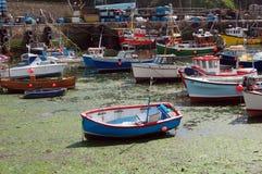 Cornish fishing boats Stock Image