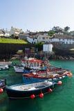 Cornish Fishing Boats Stock Photography