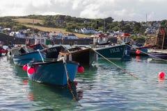 Cornish Fishing Boats Stock Photos