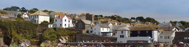 Cornish fishing village Stock Images