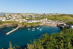 Cornish fishing village Port Isaac Cornwall England UK Royalty Free Stock Photography