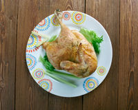 Cornish game hen Royalty Free Stock Photos