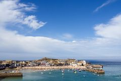 Cornish Harbour Royalty Free Stock Image
