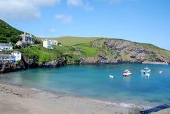 Cornish harbour Stock Photo