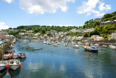Cornish harbour Stock Photos