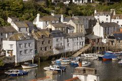 Cornish harbour, England Royalty Free Stock Image