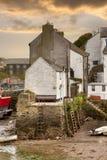 Cornish harbour, England Royalty Free Stock Photo