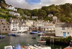 Cornish harbour in summer Stock Image