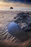 cornish kust royaltyfria bilder