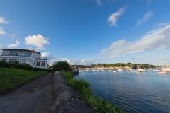 cornish kust Fotografering för Bildbyråer
