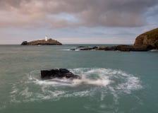 Cornish Lighthouse  Royalty Free Stock Image