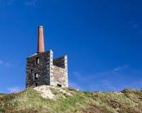 Cornish Mining Engine House Royalty Free Stock Photo