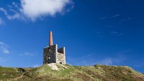 Cornish Mining Engine House Royalty Free Stock Photos
