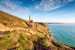 Cornish Mining Ruins Royalty Free Stock Photos