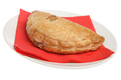 Cornish Pastie Stock Photography
