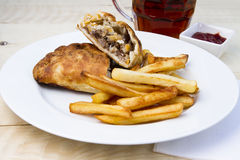 Cornish pasty Royalty Free Stock Photos