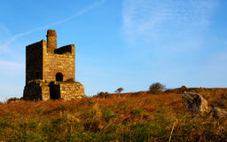 Cornish Pump House Stock Photo