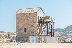 Cornish Pump House in Okiep Royalty Free Stock Photo