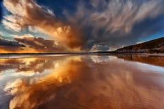 Cornish reflexion Arkivbilder