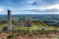 Cornish Ruins Stock Photography