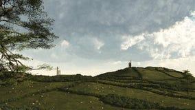 Cornish Rural Landscape Royalty Free Stock Image