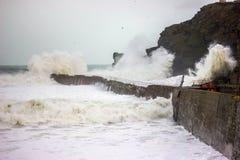 Cornish Storms 09 Stock Photos