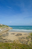 cornish strand Arkivbilder