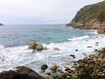 Cornish strand Fotografering för Bildbyråer