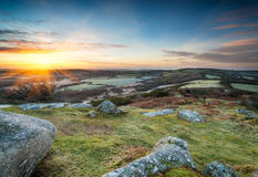 Cornish Sunrise Stock Images