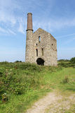 Cornish tin mine Royalty Free Stock Photos