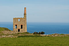 Cornish Tin Mine Stock Photos