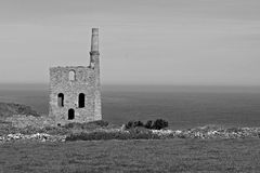 Cornish Tin Mine Royalty Free Stock Images