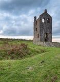 Cornish Tin Mine Royalty Free Stock Photo