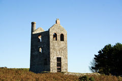 Cornish tin mine ruin Stock Photos
