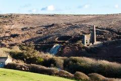 A Cornish tin mine Royalty Free Stock Image