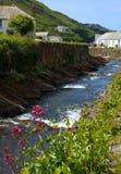 Cornish Village Stock Photo