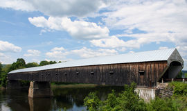 Cornish-Windsor Bridge. Covered Bridge over Connecticut River Stock Photography