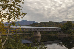 Cornish Windsor Covered Bridge. The Cornish–Windsor Covered Bridge is a covered bridge that spans the Connecticut River between Cornish, New Hampshire and royalty free stock photo