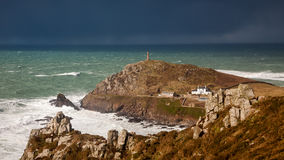 Cornish Winter Storm Stock Images