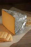 Cornish Yarg Cheese Royalty Free Stock Images