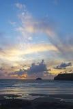 Cornisk solnedgång 2 Royaltyfria Foton