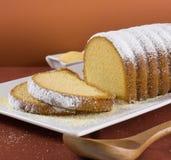 Cornmeal  cake Stock Image