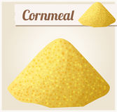 Cornmeal. Detailed Vector Icon Royalty Free Stock Photography