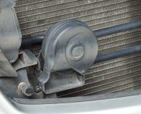 Corno del clacson dell'automobile Fotografie Stock Libere da Diritti