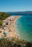 Corno dorato sull'isola di Brac in Croazia Immagini Stock