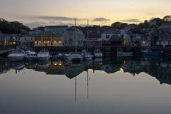 Cornovaglia, Padstow fotografia stock libera da diritti